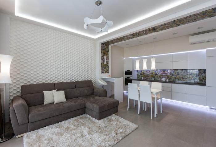 Светлая, уютная, легкая: дизайн двухкомнатной квартиры в современном стиле